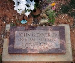 John Garrett Ekker, Jr