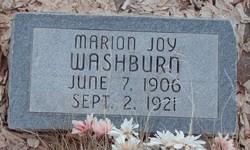 Marion Joy Washburn