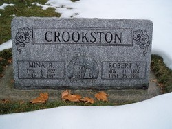 Mina <I>Rentmeister</I> Crookston