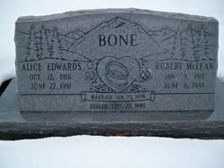 Alice <I>Edwards</I> Bone