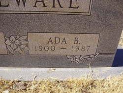 Ada B. <I>Johnston</I> Boulware