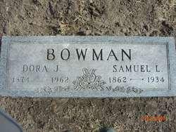 Dora Jane <I>Ailshie</I> Bowman