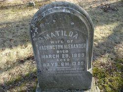 Matilda <I>Buckles</I> Alexander