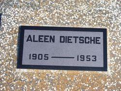 Alva (Alve) Aleen <I>Myers</I> Dietsche