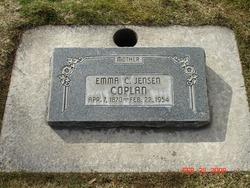 Emma Charlotte <I>Jensen</I> Coplan