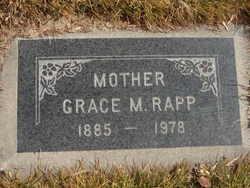 Mary Grace <I>McKenzie</I> Rapp