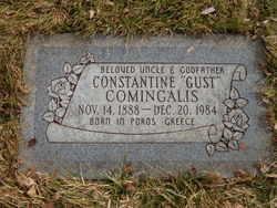 "Constantine ""Gust"" Comingalis"