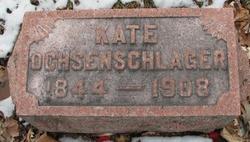 Katherine <I>Markel</I> Ochsenschlager