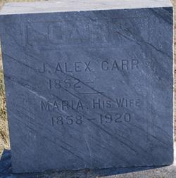 Maria <I>Powell</I> Carr