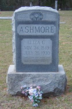 """Elizabeth Catherine """"Eliza"""" <I>Grounds</I> Ashmore"""