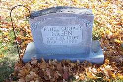 Ethel <I>Cooper</I> Green