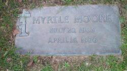 Myrtle F <I>Etier</I> Moore