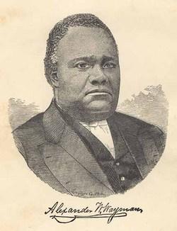 Rev Alexander Walker Wayman