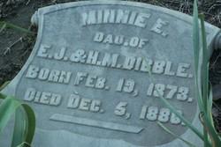 Minnie E Dibble
