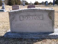 Jefferson Davis Boston, Sr
