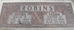 Maud <I>Burningham</I> Robins