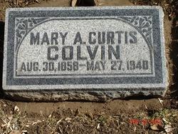Mary Alice <I>Curtis</I> Colvin