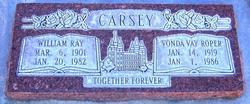 Vonda Vay <I>Roper</I> Carsey
