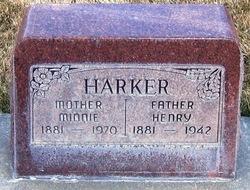 Minnie <I>Bennion</I> Harker