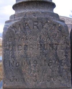 Mary Adeline <I>Shafer</I> Hunter