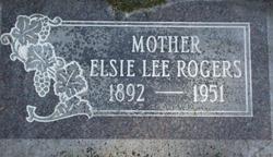 Elsie Lee Rogers
