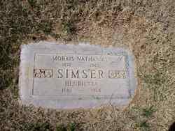 Henrietta <I>Thompson</I> Simser