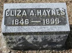 Eliza A. <I>Bowen</I> Haynes