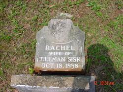 Rachel Elizabeth <I>Hall</I> Sisk