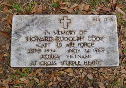 Capt Howard Rudolph Cody