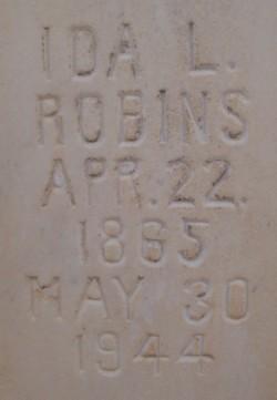 Ida Luella <I>McArthur</I> Robins