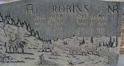 Ethel <I>Hatch</I> Robins