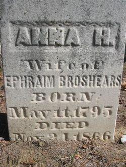 Anna Harris <I>Hinman</I> Broshears