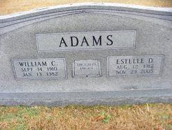 Estelle <I>Daniel</I> Adams