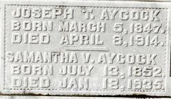 Pvt Joseph T Aycock