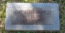 Mary Alma <I>Lewis</I> Hartley