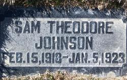 "Samuel Theodore ""Sammy"" Johnson"