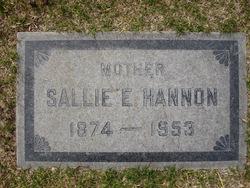Sarah (Sallie) Elizabeth <I>Bland</I> Hannon