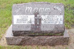 "Katherine E ""Katie"" <I>Schick</I> Mann"