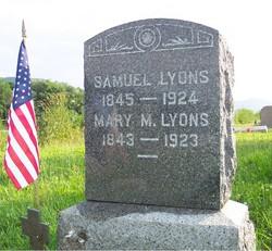 Mary Magdelene <I>Lucas</I> Lyons