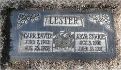 Arva Lygia <I>Snarr</I> Lester