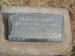 Thomas Lloyd Beatty