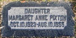 Margaret Anne <I>Pixton</I> Erickson