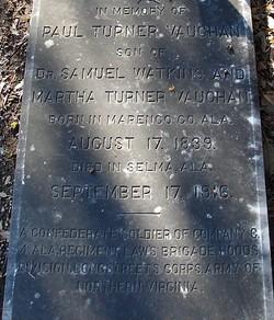 Capt Paul Turner Vaughan