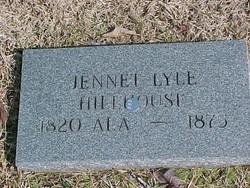 Jennet Isabelle <I>Lyle</I> Hillhouse