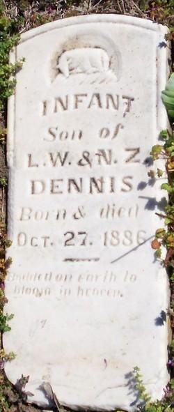 Infant Son Dennis