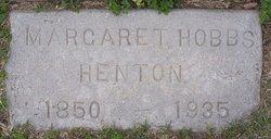 Margaret <I>Hobbs</I> Henton