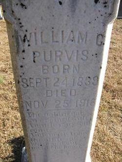 """William C. """"Billie"""" Purvis"""