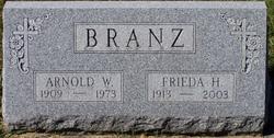 Frieda H. <I>Gerken</I> Branz