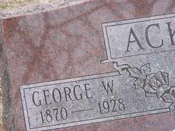 George W Ackley