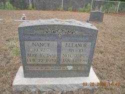 Nancy Ellen <I>Wood</I> Acker